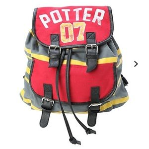 Harry Potter 07 Quidditch Slouch Backpack